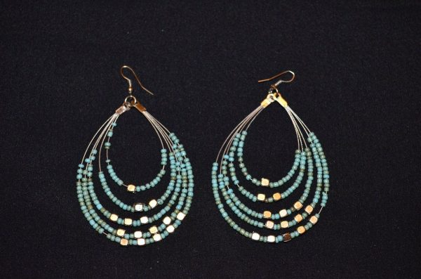 Handcrafted turquoise silver earrings(Picture Courtesy: Genesis Jewellery FB)