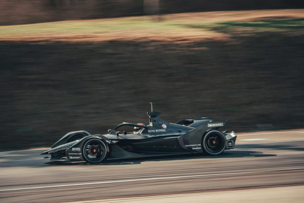 Porsche, Formula E, car, Neel Jani, rollout, Weissach, 2019.