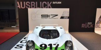 Exactly 50 years on, the 917-001 was being presented at the Retro Classics in Stuttgart, restored to its original condition as in 1969.