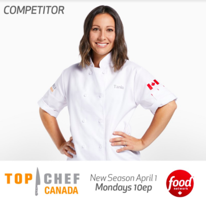 Tania Ganassini(Photo Credit: Food Network Canada)