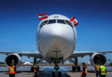 Austrian Airlines in the U.S. and Canada