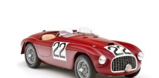 Ferrari 166MM Mille Miglia and Le Mans winner