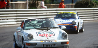 Porsche 911 Carrera 2 Cup at the Supercup in Monaco 1993
