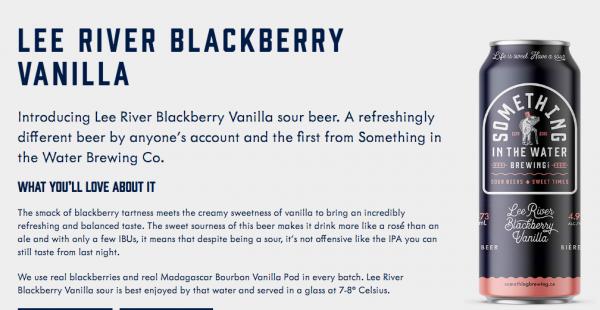 Lee River Blackberry Vanilla