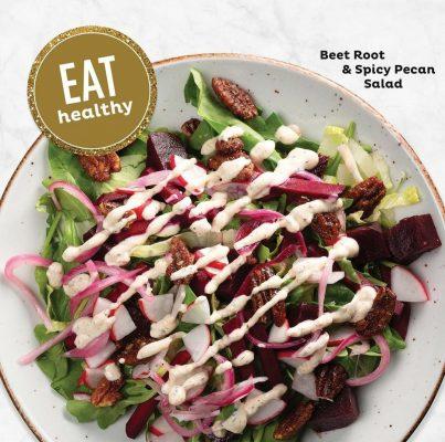 Beet Root and Pecan Salad