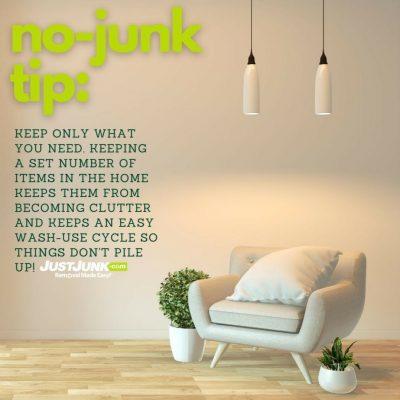 No Junk Tip-Just Junk