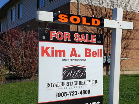 Kim Bell - Sold Sign