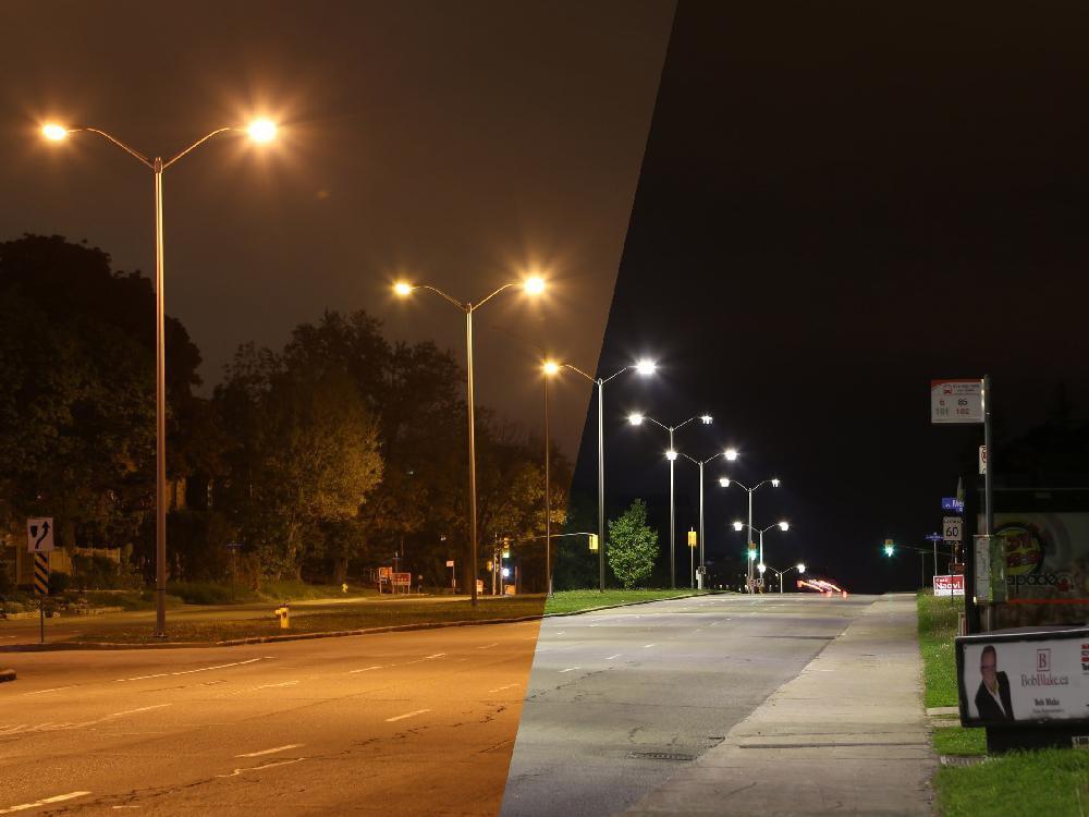 Markham LED Streetlighting Conversion HPS-LED-(Photo Courtesy: Illume Consulting)