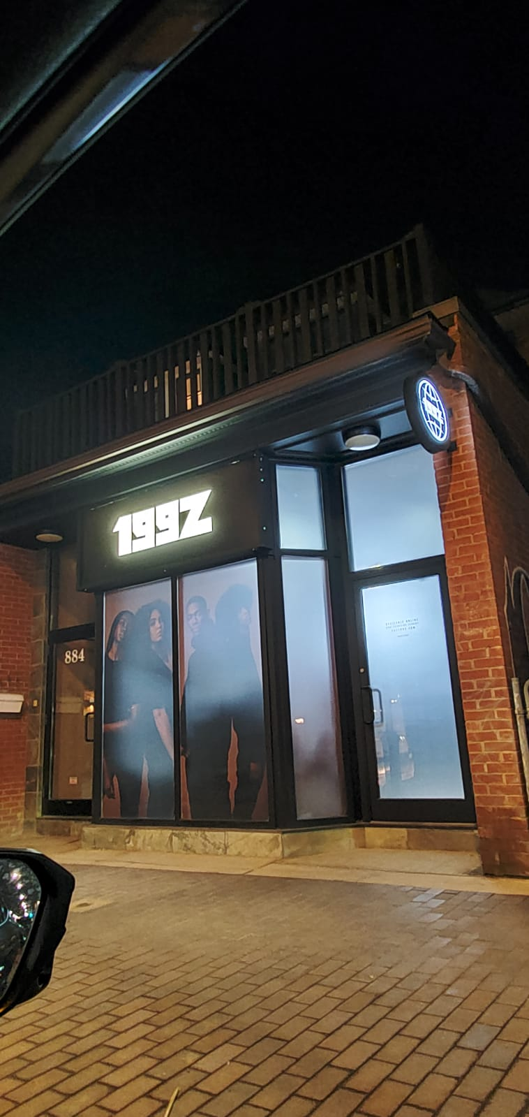 199Z location at 884 College St., Toronto