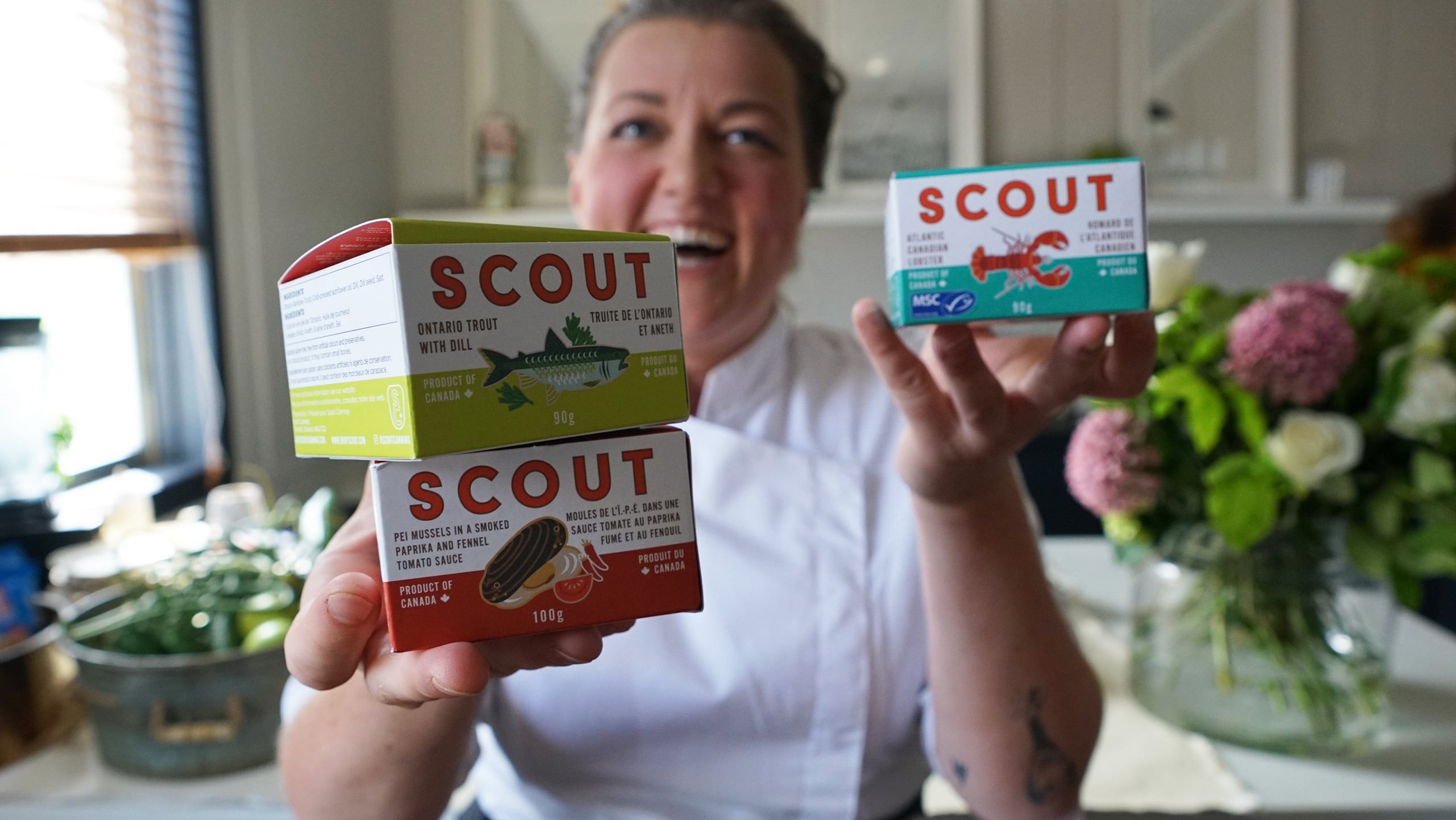 Chef Charlotte Langley , Founder Scout
